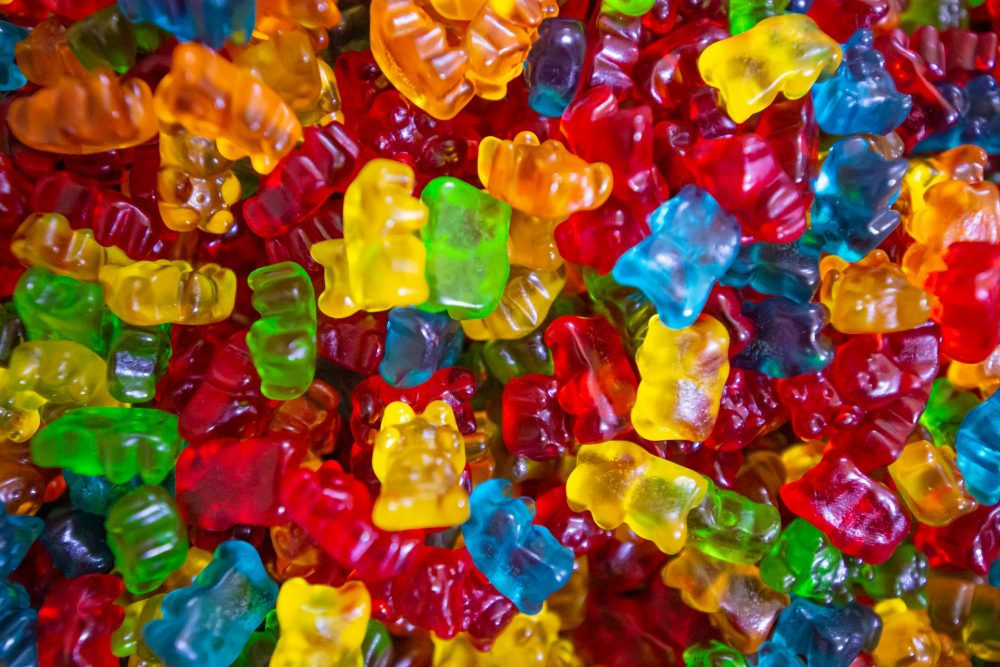 Weed candies